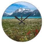 Los E.E.U.U., Alaska, parque nacional 2 del Reloj Redondo Grande