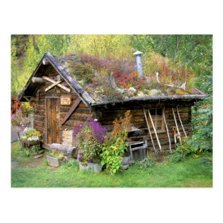 Los E.E.U.U., Alaska, parque nacional de Denali, Postal