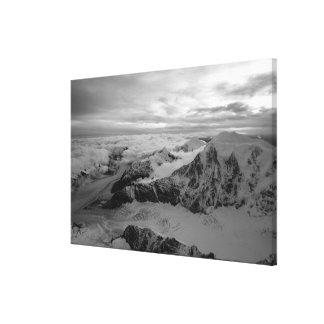 Los E.E.U.U., Alaska, parque nacional de Denali, v Impresión En Lienzo