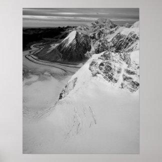Los E.E.U.U., Alaska, parque nacional de Denali, v Poster
