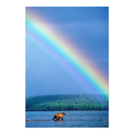 Los E.E.U.U., Alaska, parque nacional de Katmai, g Impresión Fotográfica
