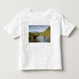 Los E.E.U.U., Alaska, parque nacional de Katmai, T Shirt