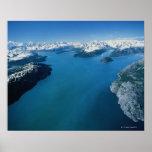 Los E.E.U.U., Alaska, parque nacional del Glacier  Poster