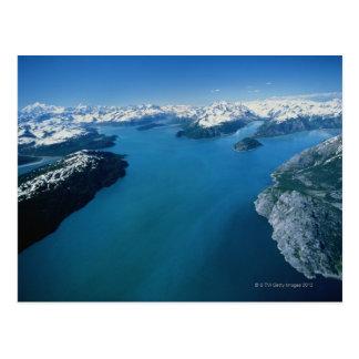 Los E.E.U.U., Alaska, parque nacional del Glacier Postal