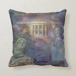 LOS E.E.U.U. - ¡América el hermoso! Cojín Decorativo