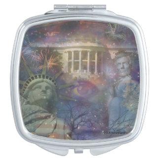 LOS E.E.U.U. - ¡América el hermoso! Espejos Maquillaje