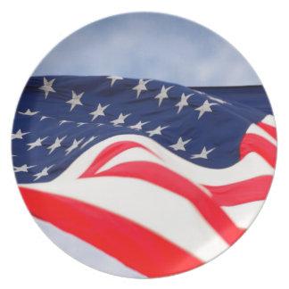 Los E.E.U.U. América Estados Unidos señalan por Platos Para Fiestas