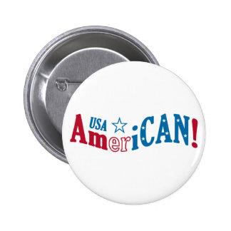 ¡Los E.E.U.U. americanos! botón de encargo Pin Redondo De 2 Pulgadas