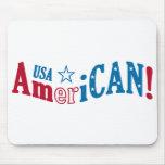 ¡Los E.E.U.U. americanos! mousepad de encargo Alfombrilla De Ratones