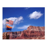 Los E.E.U.U., Arizona, banderas de la remolque en Postal