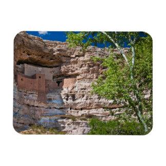 Los E.E.U.U., Arizona. Castillo de Montezuma, las Imán Foto Rectangular