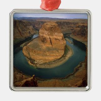 Los E.E.U.U., Arizona. Curva de herradura que Adorno Navideño Cuadrado De Metal