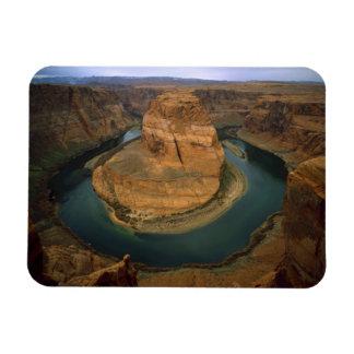 Los E.E.U.U., Arizona. Curva de herradura que mues Imanes