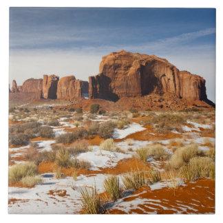 Los E.E.U.U., Arizona, Navajo del valle del monume Azulejo Cuadrado Grande