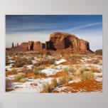 Los E.E.U.U., Arizona, Navajo del valle del monume Poster