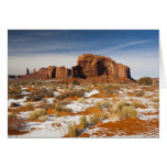 Los E.E.U.U., Arizona, Navajo del valle del monume Tarjeta