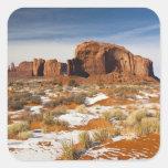Los E.E.U.U., Arizona, Navajo del valle del Colcomanias Cuadradas Personalizadas