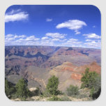 Los E.E.U.U., Arizona, parque nacional del Gran Ca Colcomanias Cuadradas Personalizadas