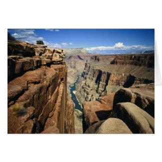 Los E.E.U.U., Arizona, parque nacional del Gran Ca Tarjeton