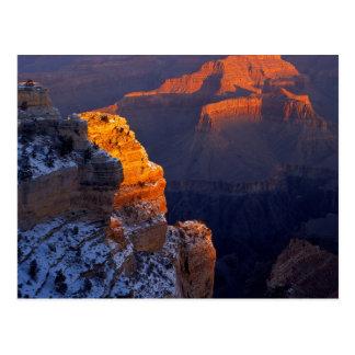 Los E.E.U.U., Arizona, parque nacional del Gran Postal