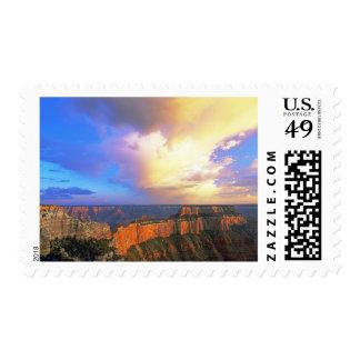 Los E.E.U.U., Arizona, parque nacional del Gran Timbre Postal