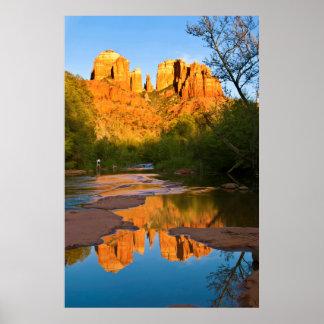 Los E.E.U.U., Arizona. Roca de la catedral en la Impresiones