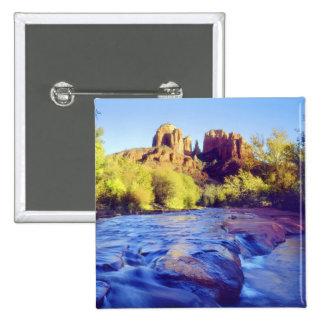 Los E.E.U.U., Arizona, Sedona. Roca de la catedral Pin Cuadrado