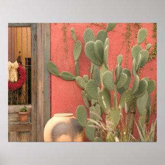 Los E.E.U.U., Arizona, Tucson: Distrito histórico  Poster