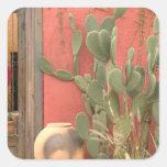 Los E.E.U.U., Arizona, Tucson: Distrito histórico Pegatina Cuadrada