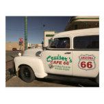 Los E.E.U.U., Arizona, Williams: Café 66 de los cr Tarjeta Postal