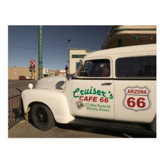 Los E.E.U.U., Arizona, Williams: Café 66 de los Postal
