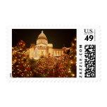 Los E.E.U.U., Arkansas, Little Rock, capitolio del Timbres Postales