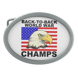 LOS E.E.U.U.:  Backt para apoyar a campeones de la Hebillas Cinturón