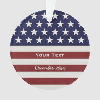 Los E.E.U.U. bandera americana personalizado