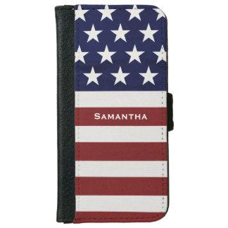 Los E.E.U.U. bandera americana personalizado Carcasa De iPhone 6