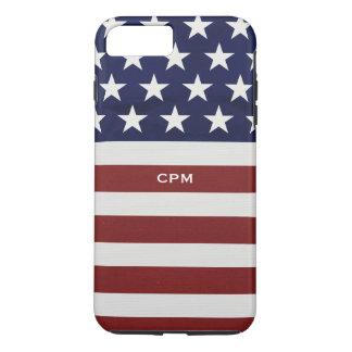 Los E.E.U.U. bandera americana personalizado Funda iPhone 7 Plus