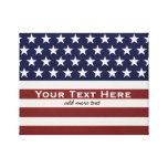 Los E.E.U.U. bandera americana personalizado Impresión En Lienzo