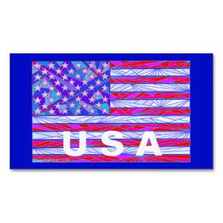 Los E.E.U.U. blancos de la bandera americana y