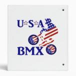 Los E.E.U.U. BMX - Ciclista americano