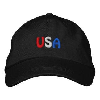 Los E.E.U.U. bordaron el gorra Gorra Bordada