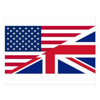 los E.E.U.U. británicos Tarjeta Postal