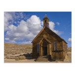 Los E.E.U.U., California, Bodie, iglesia vieja en  Tarjetas Postales