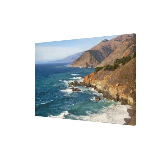 Los E.E.U.U., California, costa costa grande de Impresiones De Lienzo