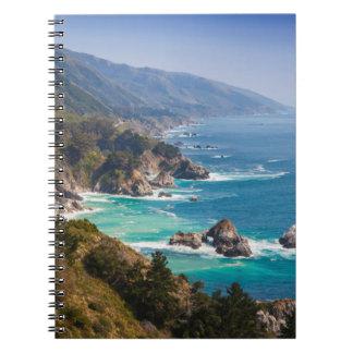 Los E.E.U.U., California. Costa de California, Sur Libretas Espirales