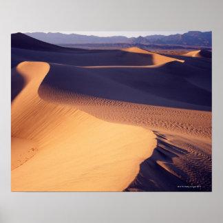 Los E.E.U.U., California, Death Valley, dunas de a Póster