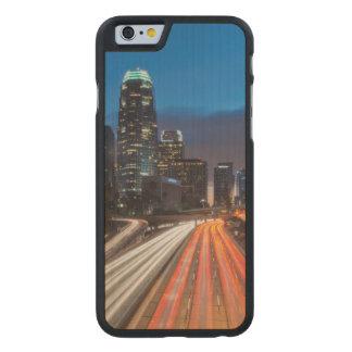 Los E.E.U.U., California, Los Ángeles, 110 Funda De iPhone 6 Carved® Slim De Arce