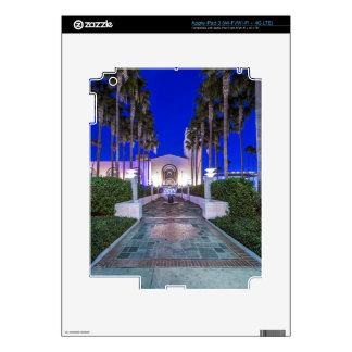 Los E.E.U.U., California, Los Ángeles, estación de iPad 3 Skins
