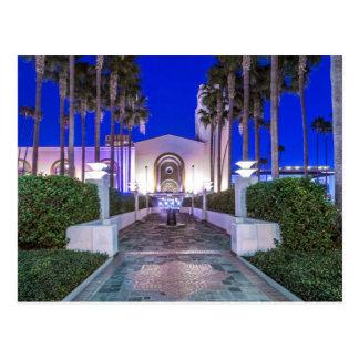 Los E.E.U.U., California, Los Ángeles, estación de Tarjetas Postales