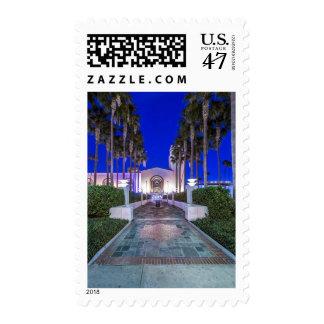 Los E.E.U.U., California, Los Ángeles, estación de Timbres Postales