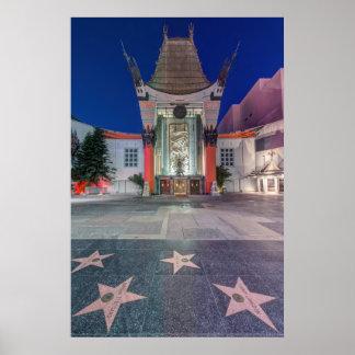 Los E.E.U.U., California, Los Ángeles, Hollywood Póster